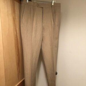 NWT Tommy Bahama linen/silk men's dress pants, 36